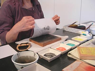 Ukiyo-e Woodblock Printing