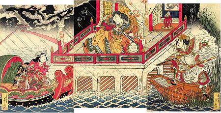 日本歌竹取物語